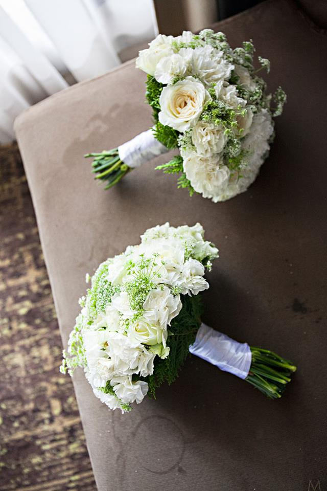 Bridemaids wedding flowers
