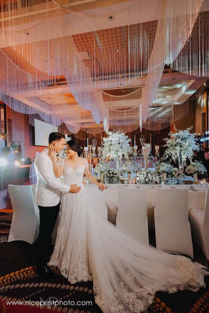 Photographer Nice Print Videographer Ceremony Venue Shrine Of St Therese Reception Raffles Fairmont Makati Bride S Dress