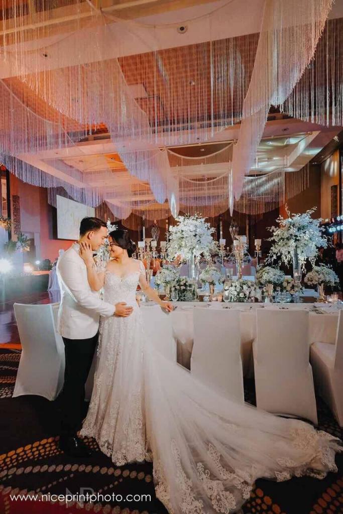 Photographer Nice Print Videographer Ceremony Venue Shrine Of St Therese Reception Raffles Fairmont Makati Bride S Dress