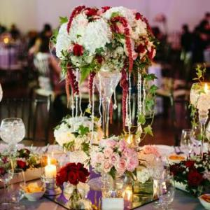 VIP table centerpiece