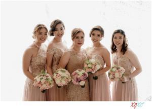 wedding entourage flowers